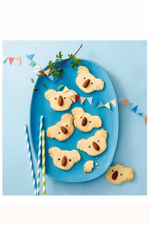 Koala basteln leckere Kekse backen