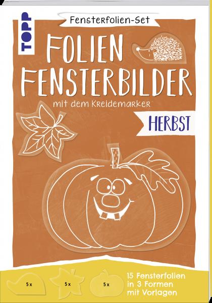 Fensterfolien-Set - Folien-Fensterbilder mit dem Kreidemarker - Herbst