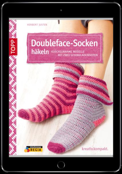 Doubleface-Socken häkeln (eBook)