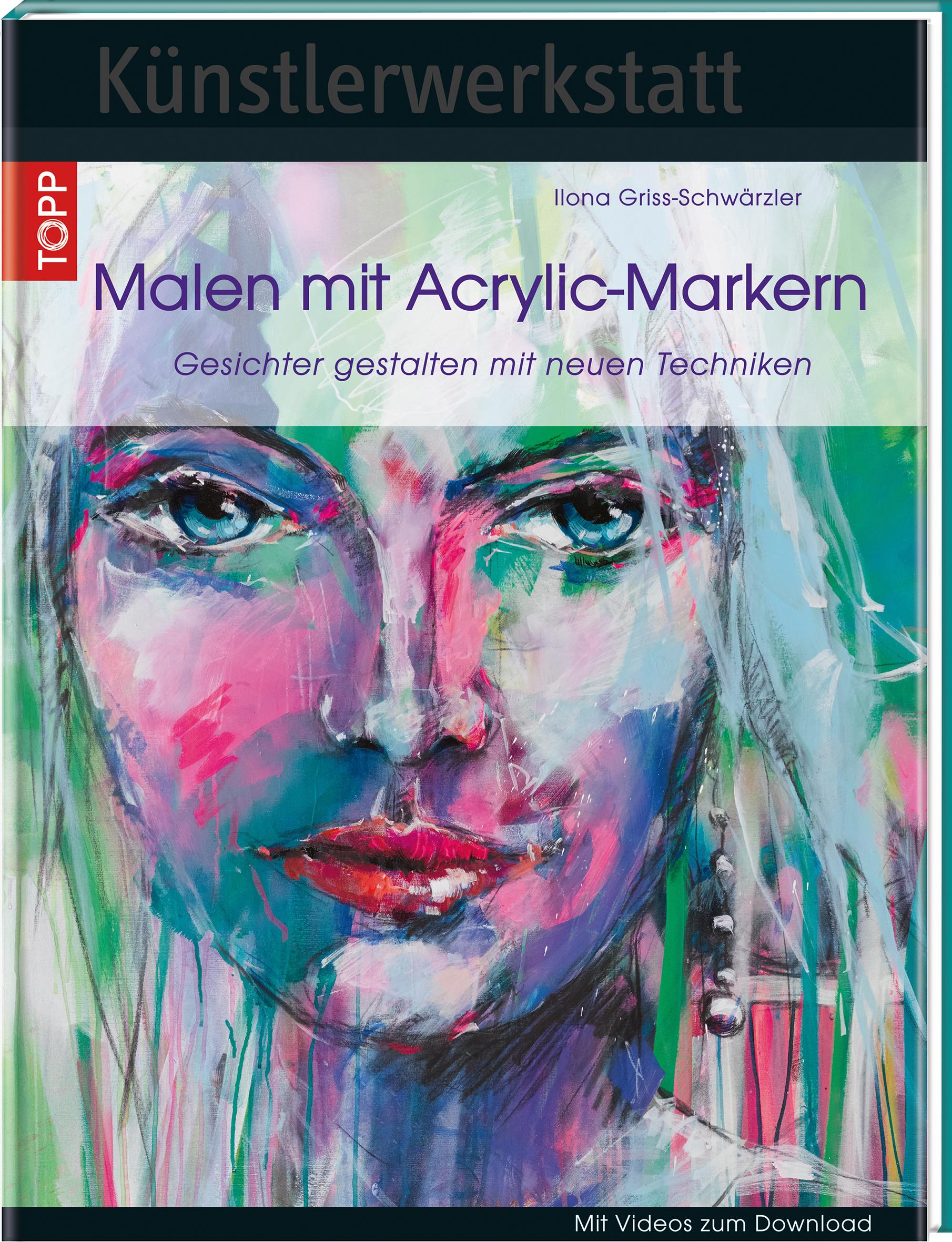 Künstlerwerkstatt Malen Mit Acrylic Markern Mischtechniken