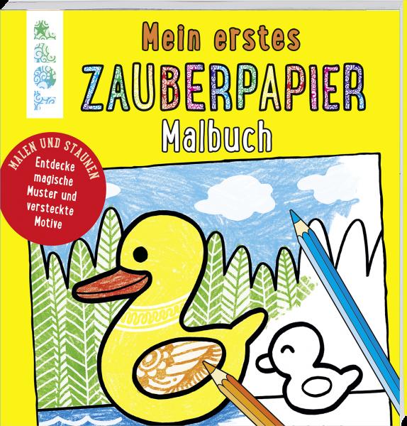 Mein erstes Zauberpapier Malbuch