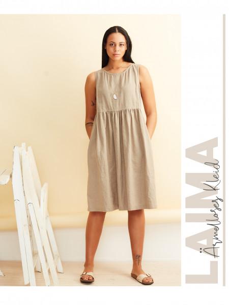 Ärmelloses Kleid Laima (nur Pattarina-Schnitt)