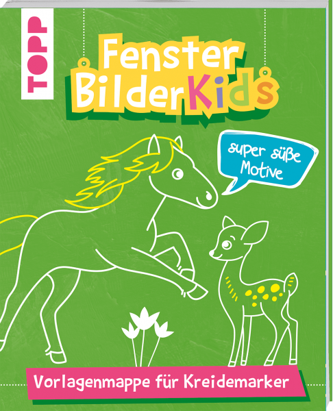 Fensterbilder Kids Super süße Motive