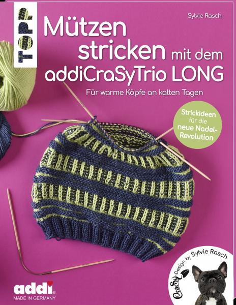 Mützen stricken mit dem addiCraSyTrio LONG