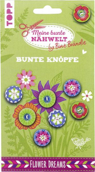 Bine Brändle Bunte Knöpfe Flower Dreams