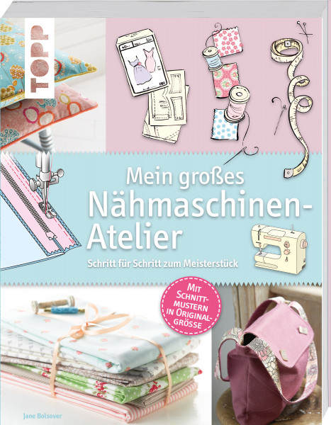 Mein großes Nähmaschinen-Atelier