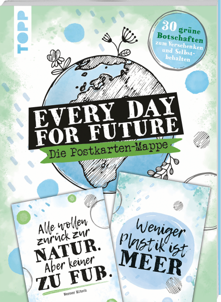 Every Day For Future - die Postkarten-Mappe