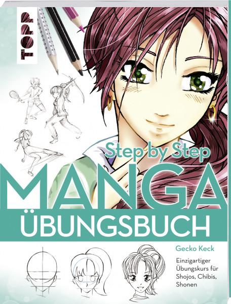 Manga Step by Step Übungsbuch
