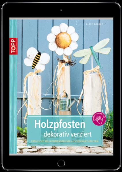 Holzpfosten dekorativ verziert (eBook)
