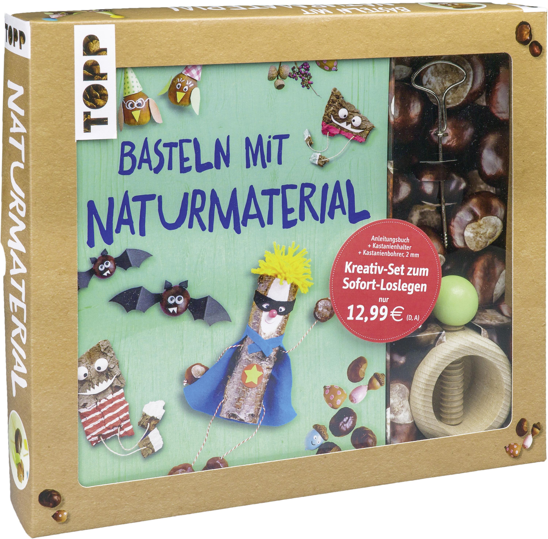 Kreativ Set Basteln Mit Naturmaterial