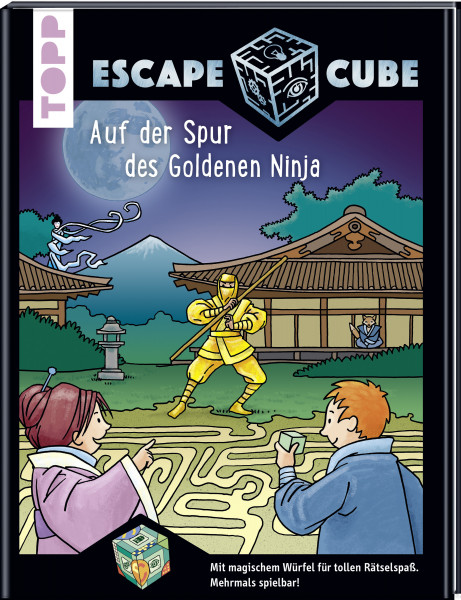 Escape Cube Kids Auf der Spur des Goldenen Ninja