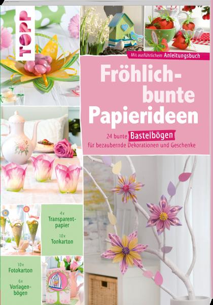 Fröhlich-bunte Papierideen. DIY Paper-Art