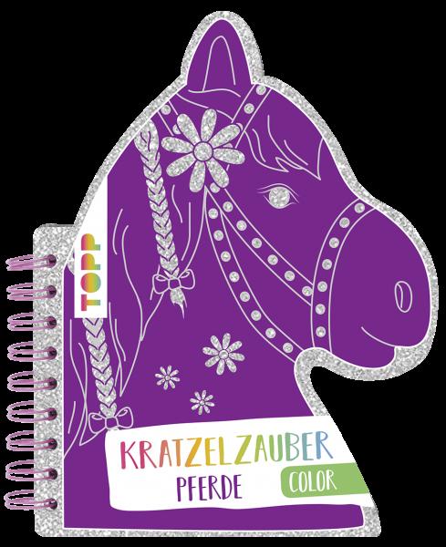 Kratzelzauber Color Pferde