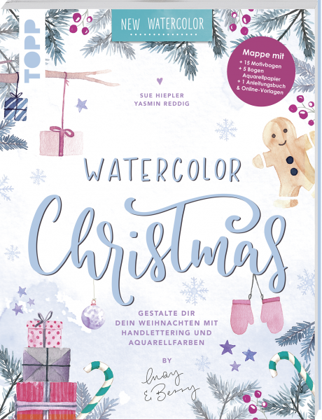 Watercolor Christmas by May & Berry