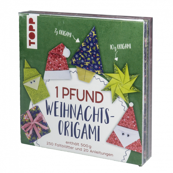 1 Pfund Weihnachts-Origami Papierset