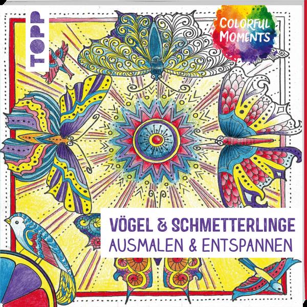Colorful Moments - Vögel & Schmetterlinge