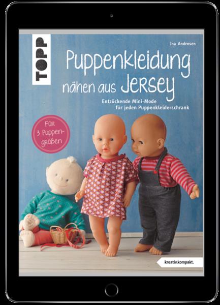 Puppenkleidung nähen aus Jersey (eBook)