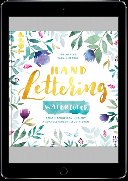 Handlettering Watercolor (eBook)