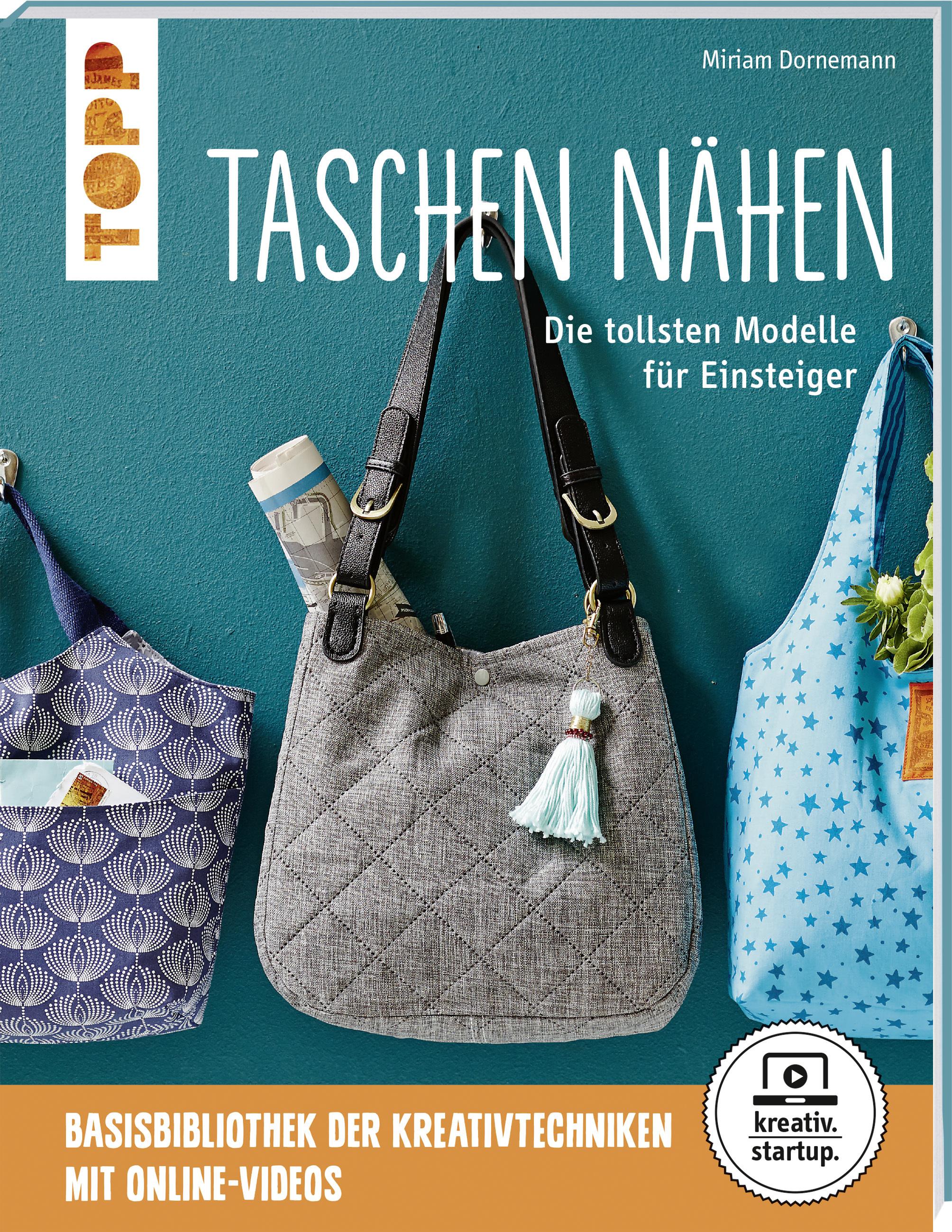 30bc5ddf1bc46 Taschen nähen  Anleitung   Buch
