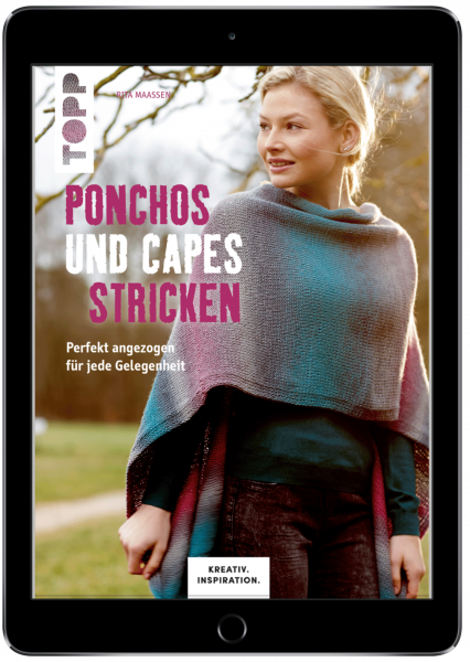 Ponchos und Capes stricken (eBook)