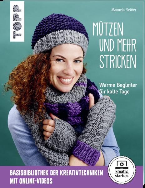 Mützen und mehr stricken (kreativ.startup.)