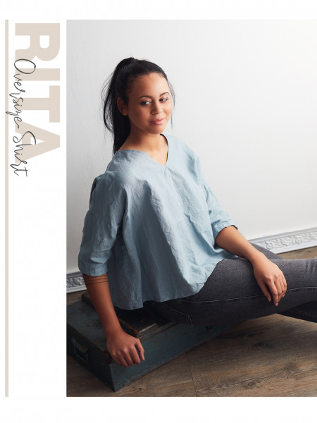 Oversize-Shirt Rita (nur Pattarina-Schnitt)