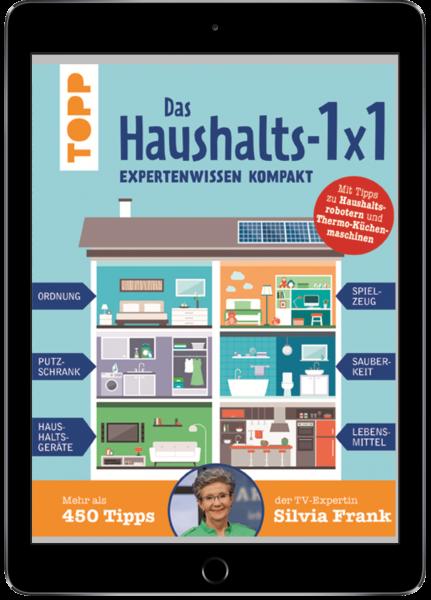 Das Haushalts-1x1. Expertenwissen kompakt. Mehr als 450 Tipps der TV-Expertin Silvia Frank (eBook)