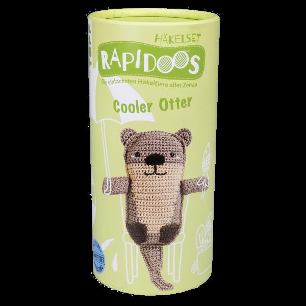 Rapidoos Häkelset Cooler Otter