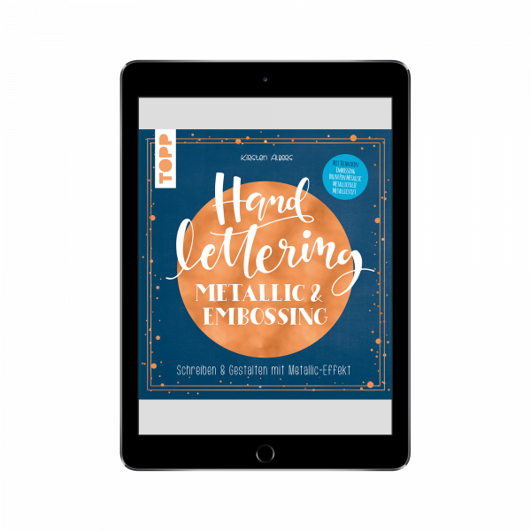 Handlettering Metallic & Embossing (eBook)
