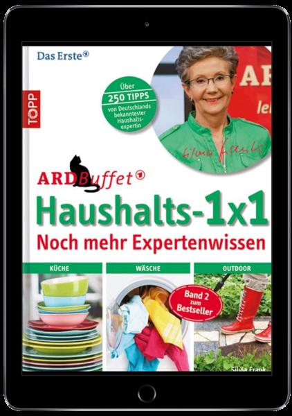 ARD Buffet Haushalts 1x1 noch mehr Expertenwissen (eBook)
