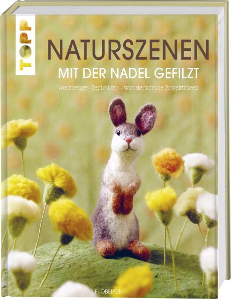 Naturszenen mit der Nadel gefilzt