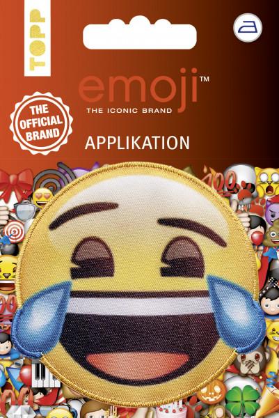 Emoji Applikation Lachen mit Tränen