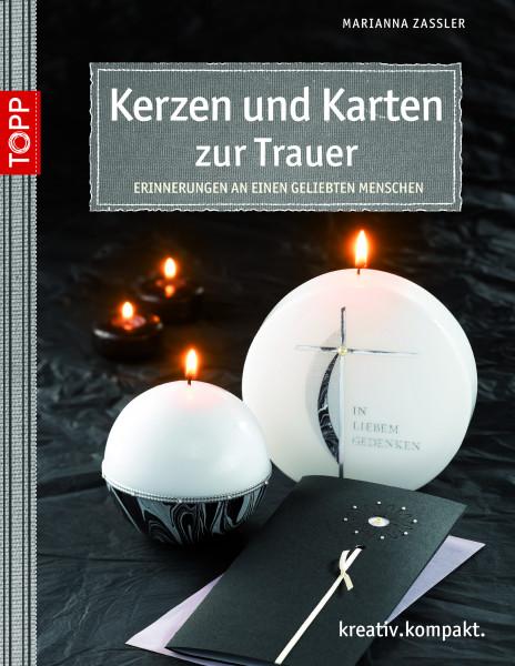 Karten und Kerzen zur Trauer