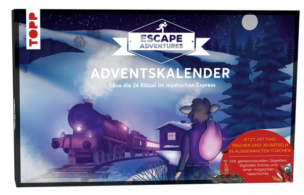 Adventskalender Escape Adventures - Der mystische Express