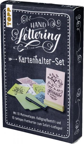 Handlettering Kartenhalter-Set