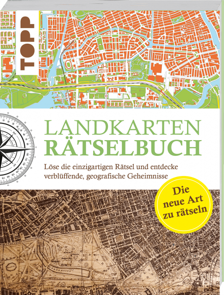 Landkarten Rätselbuch - die Rätselinnovation
