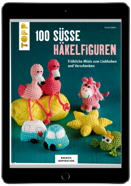 100 süße Häkelfiguren (eBook)