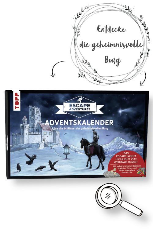 Escape Adventures Adventskalender Burg Wittelsegg Produktbild und Empfehlung