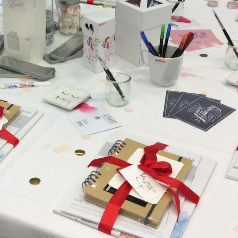Blogger Treffen Creativeworld 2018 mit TOPP edding & Hahnemühle