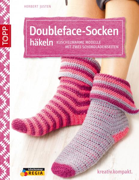 Doubleface-Socken häkeln
