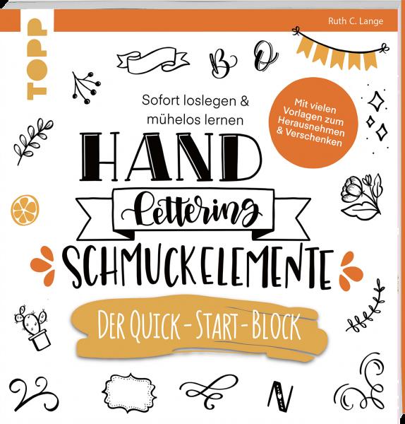 Handlettering Schmuckelemente. Der Quick-Start-Block
