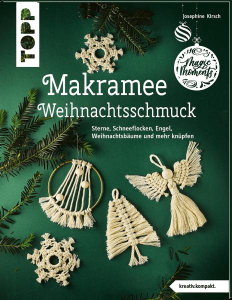 Makramee-Weihnachtsschmuck