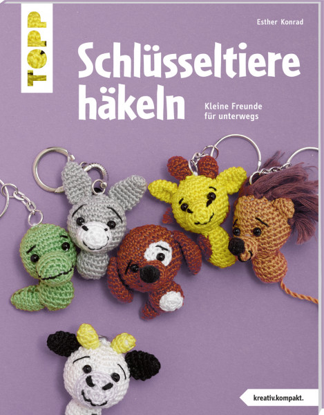 Schlüsseltiere häkeln (kreativ.kompakt.)