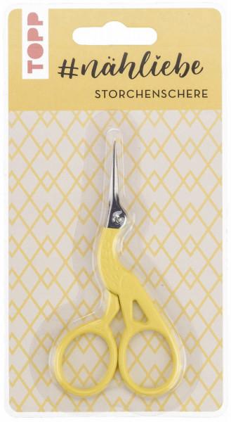 #nähliebe Storchenschere Gelb