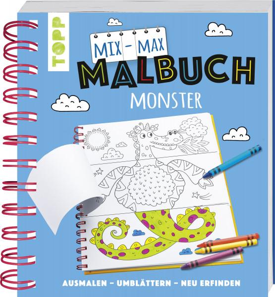 Mix-Max-Malbuch Monster