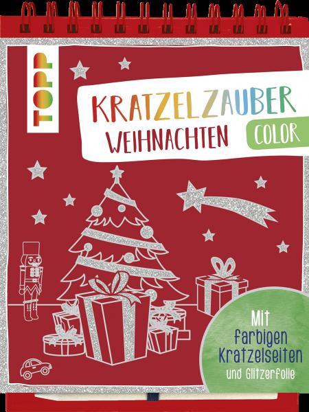 Kratzelzauber Color Weihnachten