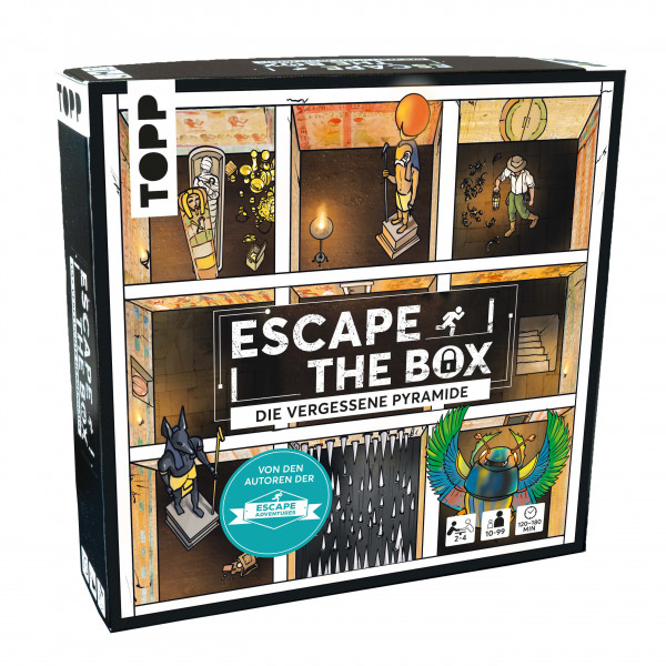 Escape The Box – Die vergessene Pyramide