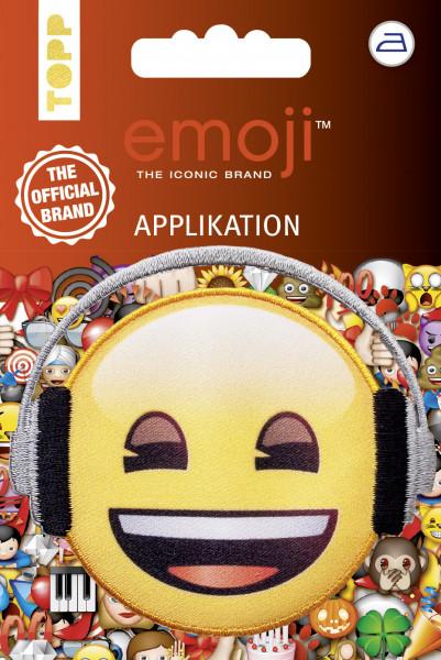 Emoji Applikation Kopfhörer