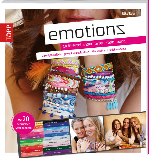 Emotionz - Multi-Armbänder für jede Stimmung
