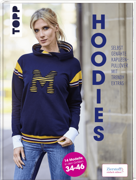 Hoodies - Selbstgenähte Kapuzenpullover mit trendy Extras